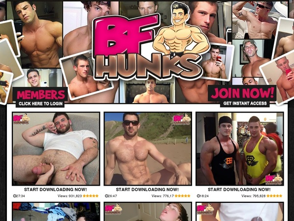 BF Hunks Without Card