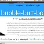 Bubble-butt-boys.com Join With SMS
