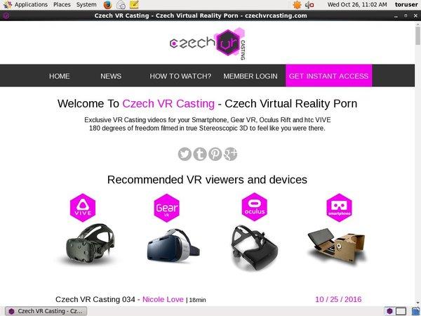 Czech VR Casting Porn Free