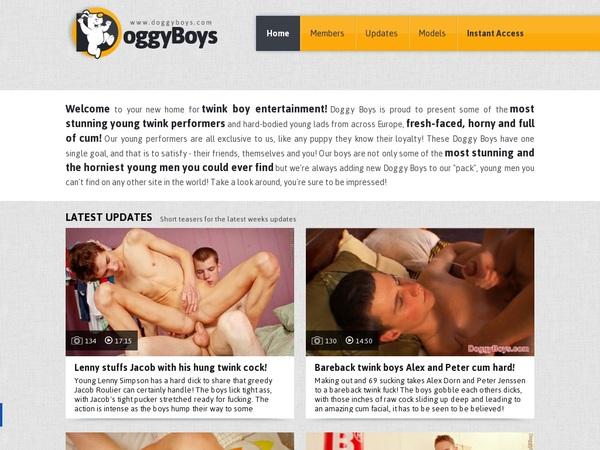 Free Doggy Boys Premium Accounts