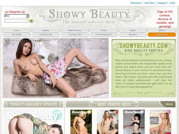 Showy Beauty Billing Page