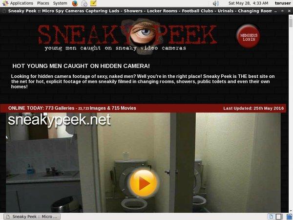 Sneakypeek.net Member Review