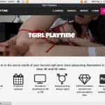 Tgirl Play Time Membership Free