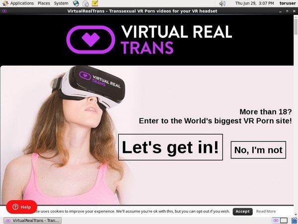 Virtual Real Trans Trial Access