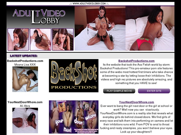 Adult Video Lobby Credits