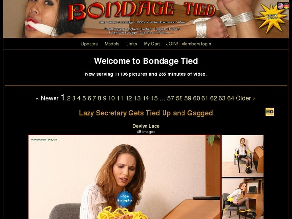 Bondagetied Discount Free Offer