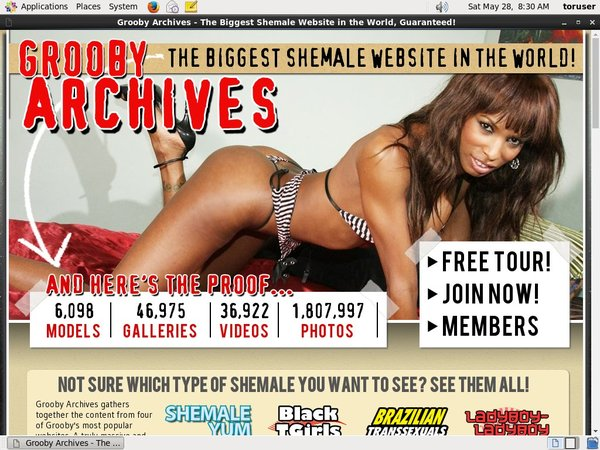 Grooby-archives.com Promo Link Code