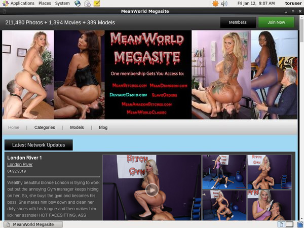 Sign Up Mean World