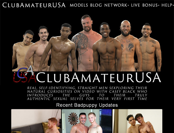 Login To Club Amateur USA Free