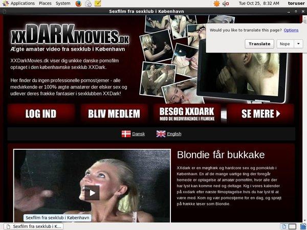 Free XX Dark Movies Dk Login Account