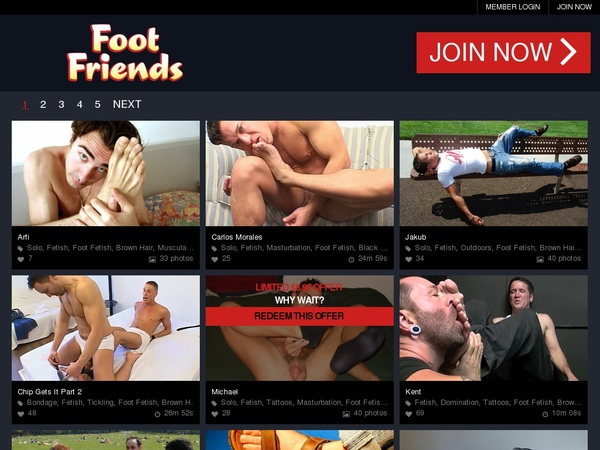 Get Footfriends.com For Free