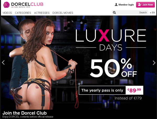 Discount Link Dorcel Club