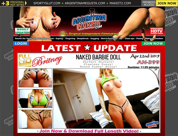 Argentina Naked Free Trial Tour